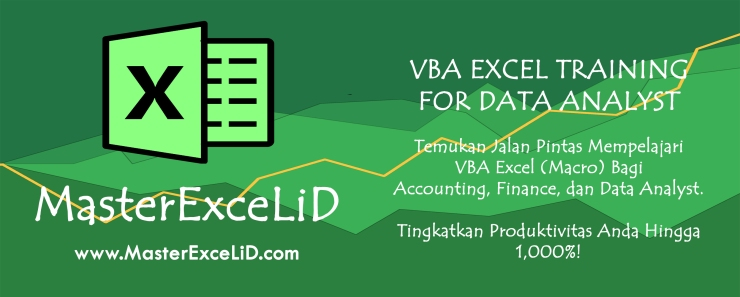 MasterExceLiD Training Banner - VBA